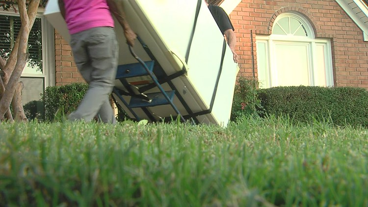 Local moving service pays it forward to those battling breast cancer