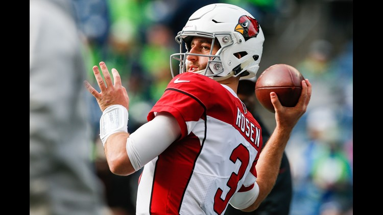 Dolphins acquire quarterback Josh Rosen in deal with Arizona