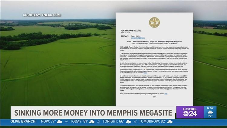 Mega mistake? Critics question Gov. Bill Lee's plans to spend $52 million of taxpayer money on Memphis Regional Megasite