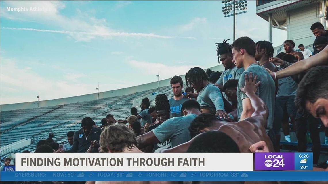 U of M linebacker JJ Russel found motivation for football season through faith