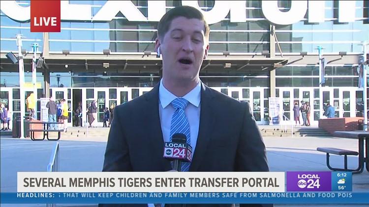 University of Memphis basketball stars D. J. Jeffries, Boogie Ellis, and Damion Baugh enter transfer portal