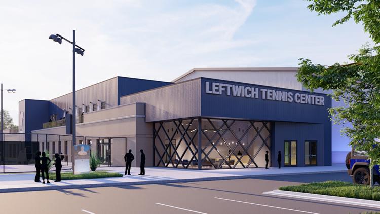 University of Memphis groundbreaking for $24 million Leftwich Tennis Center in Audubon Park set for early June