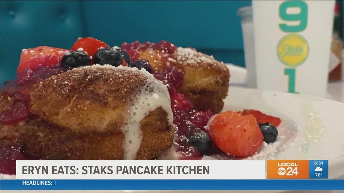 Eryn Eats: Eryn debuts new, unnamed menu item at Staks Pancake Kitchen