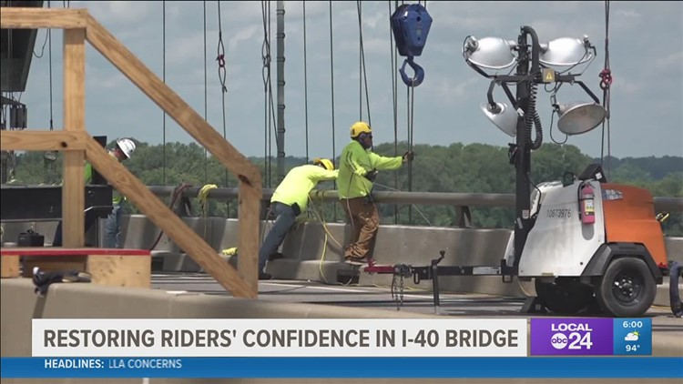 It's set to partially reopen Monday, but just how safe will the I-40 bridge be?