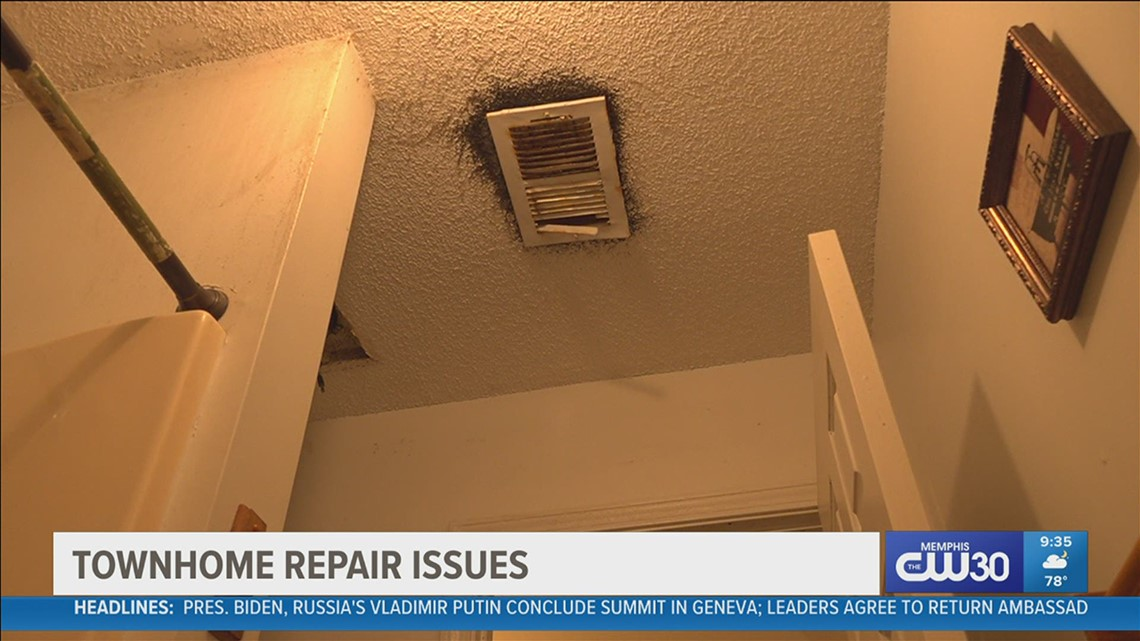 'It looks to me like black mold, but I guess they call it condensation mold' | Tenant deals with mold in home