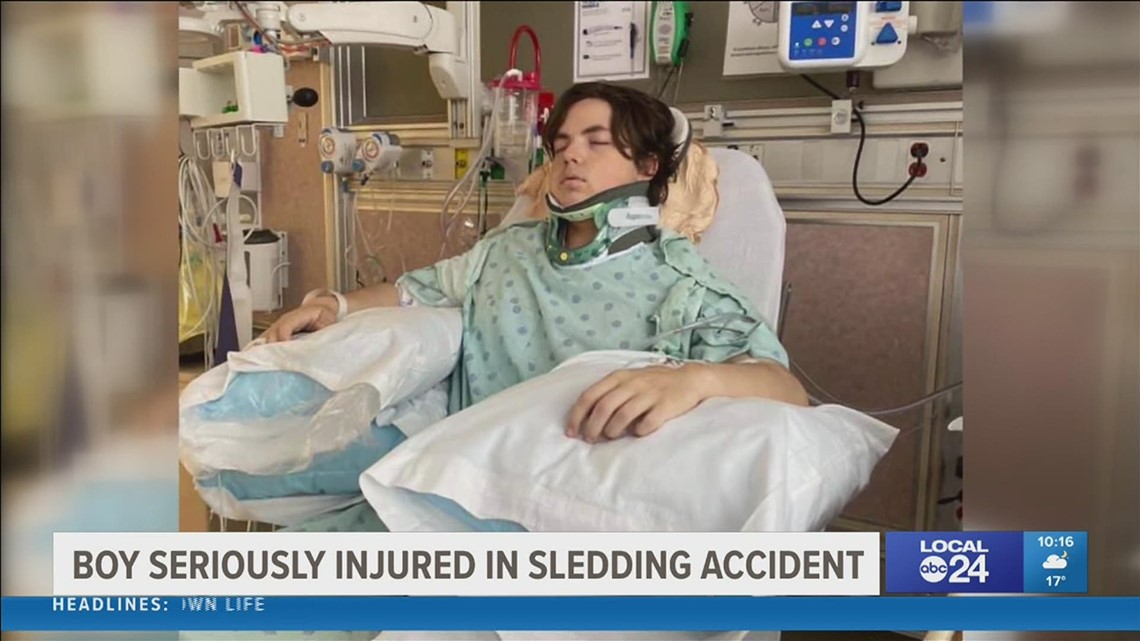 An Arlington family holding out hope after teen severely injured after near deadly sledding accident