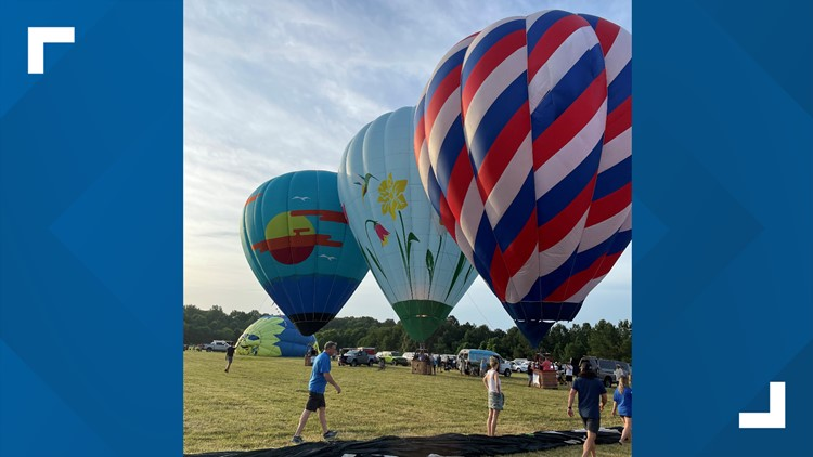 All eyes were on the sky in Collierville for the first Bluff City Balloon Jamboree