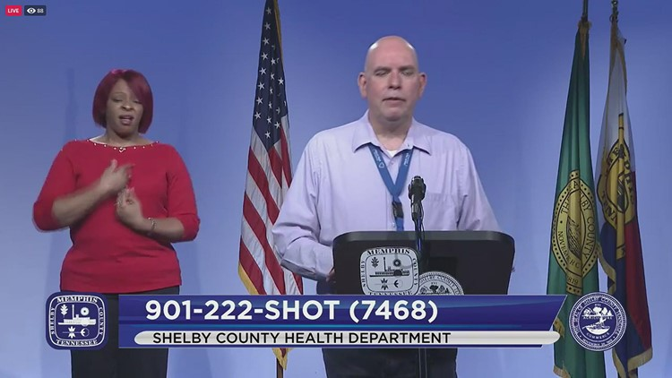 Shelby County health experts concerned with COVID-19 vaccinations slowing, virus spreading of late