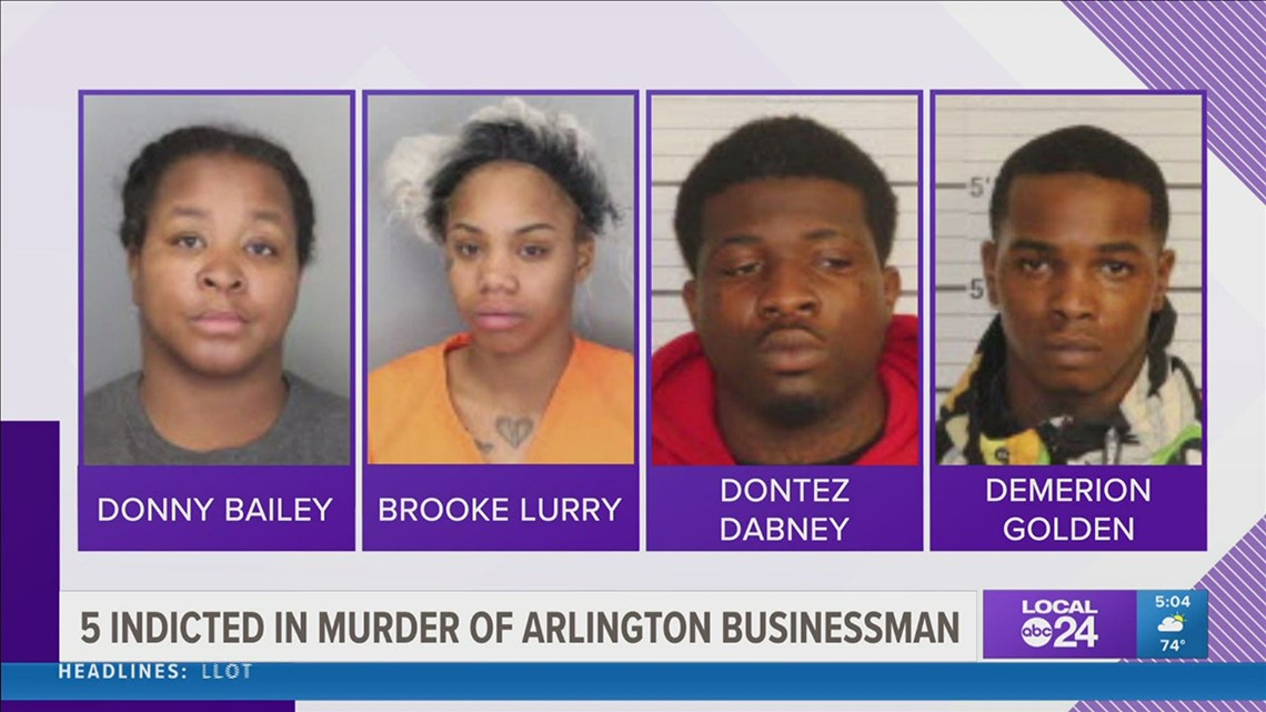 Five indicted in killing of businessman found shot to death in Arlington home
