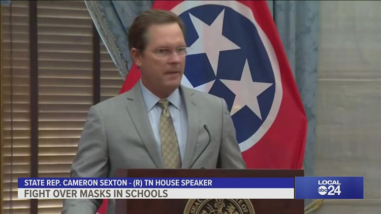 Opinion | Tennessee House Speaker Cameron Sexton really, REALLY does not want schools to require students to wear masks | Richard Ransom