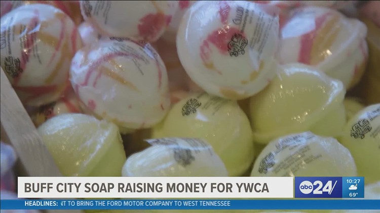 Help fight against domestic violence, one bar of soap at a time