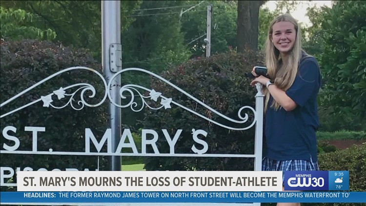 St. Mary's Episcopal School mourns the sudden loss of a student-athlete
