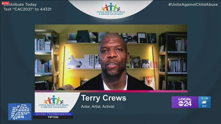 Memphis Child Advocacy Center, Terry Crews, and others unite for national virtual event against child abuse