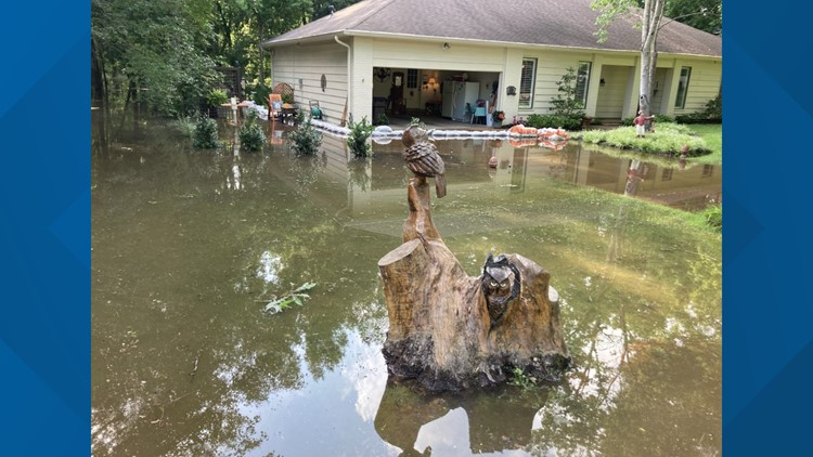 Efforts made to relieve neighborhoods impacted by significant flooding in Clarksdale, Mississippi