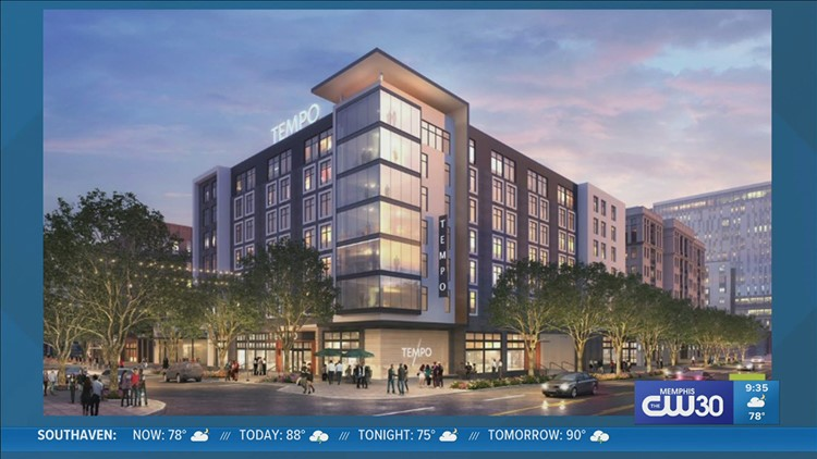 Two more hotels moving into downtown Memphis