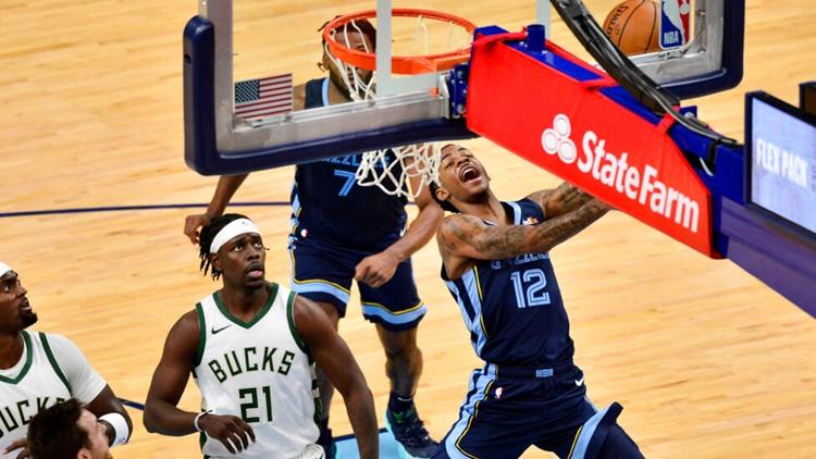 The Greek Freak strikes again, leading Milwaukee past the Grizzlies