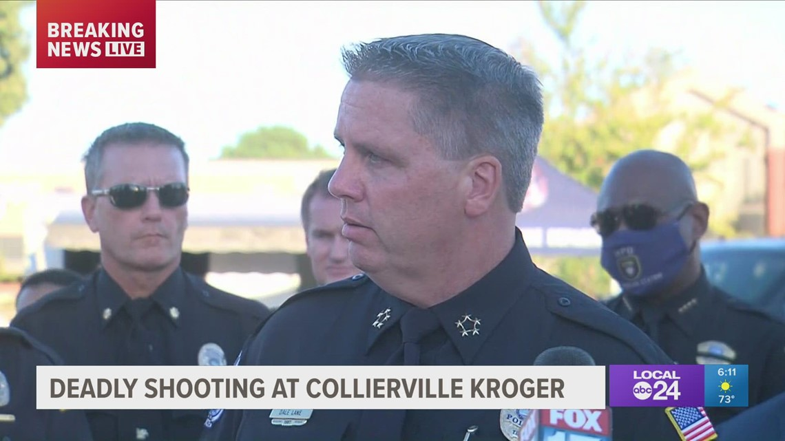Shooting at Collierville Kroger latest update by police
