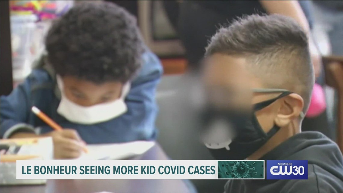 Two children in Memphis died from COVID-19 over the weekend