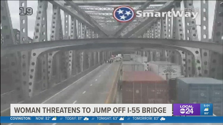 Police activity shut down I-55 bridge Wednesday morning; shows need to quickly reopen I-40 bridge