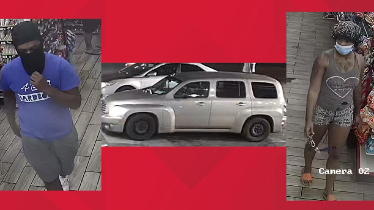 Memphis Police release pictures of suspects wanted in Whitehaven gas station murder