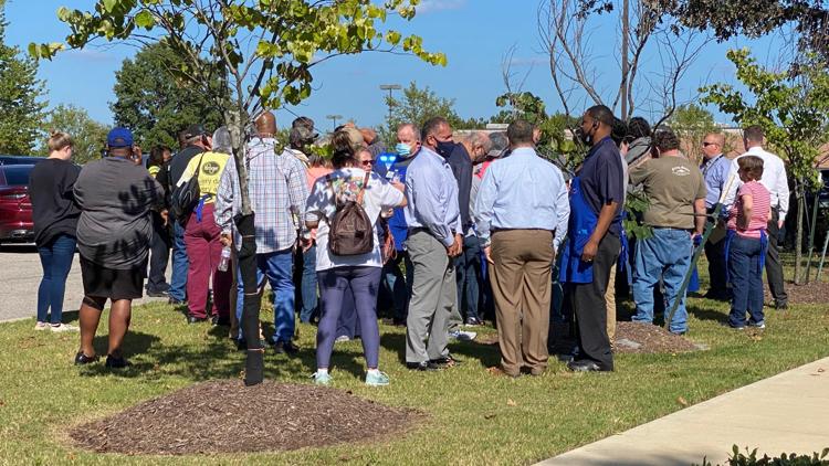 Collierville hosts prayer vigil following deadly shooting at Kroger