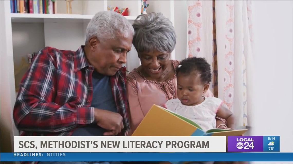 Methodist Le Bonheur Healthcare & SCS partner to improve literacy skills