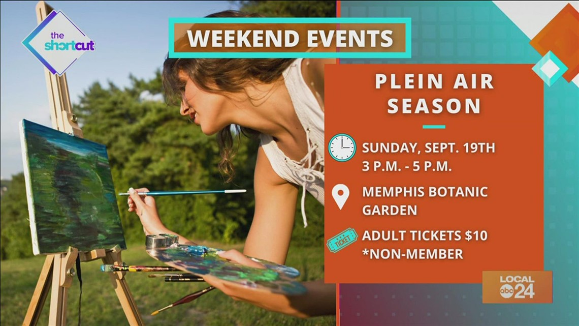 Movies, Sneaker Fest, and outdoor painting coming to a weekend near you!