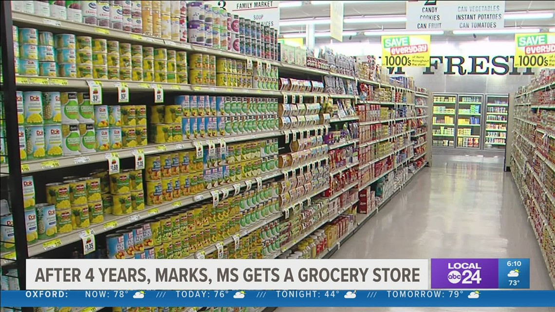 Food desert no more | Marks, Mississippi gets a grocery store