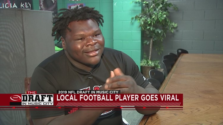 Tennessee high school football player goes viral after NFL Draft