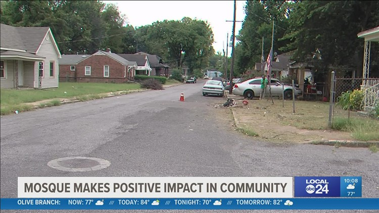 Mosque leaders work to revitalize Klondike neighborhood