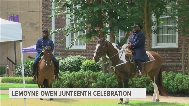 People across the Mid-South marked the Juneteenth holiday with special celebrations