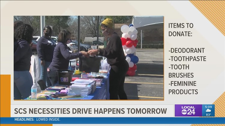 Donations needed for Shelby County Schools' Necessity Drive