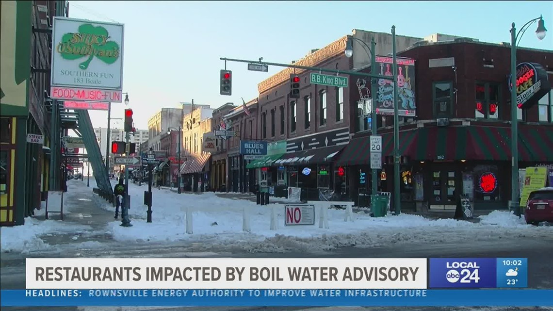 Restaurant owners staying resilient during boil water advisory