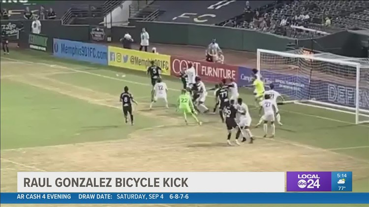 You have to see it to believe it: once-in-a-lifetime goal gives Memphis 901 FC win over rivals from Birmingham