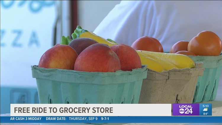 Some Memphis residents can get a free ride and free cash for fresh food