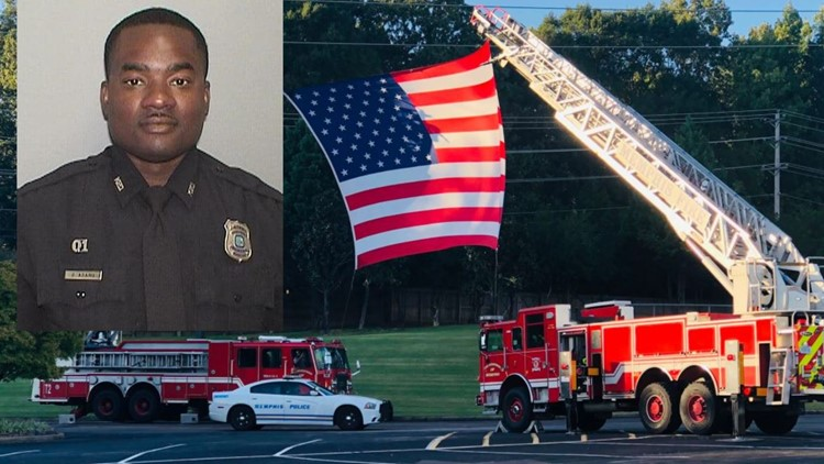 Sea of Blue: Family, law enforcement honor life of fallen Memphis Police Officer Darrell Adams