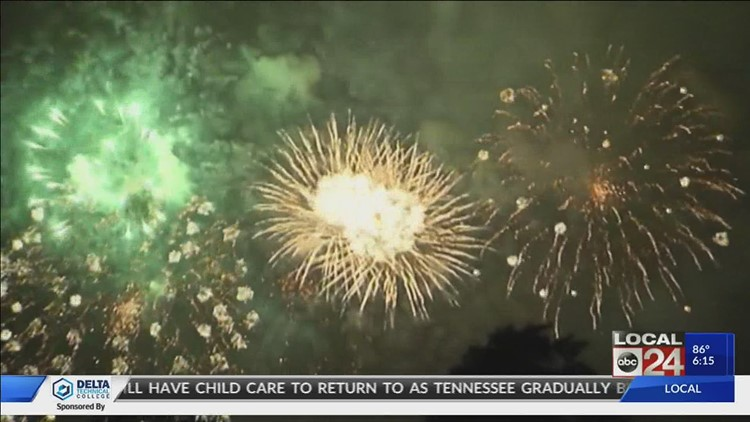 PTSD and Fourth of July fireworks