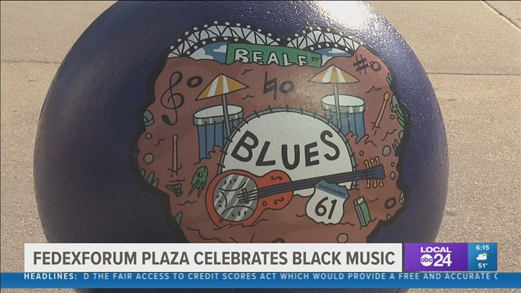The FedExForum is celebrating Black History Month in a unique way