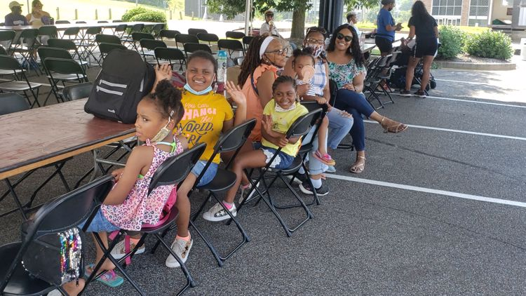 First Baptist Church - Broad celebrates with a church family reunion