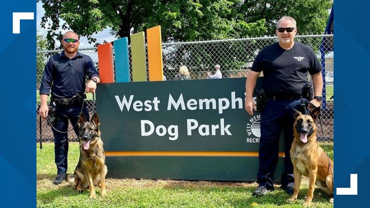 Calling all dogs and dog lovers! New dog park opens in West Memphis