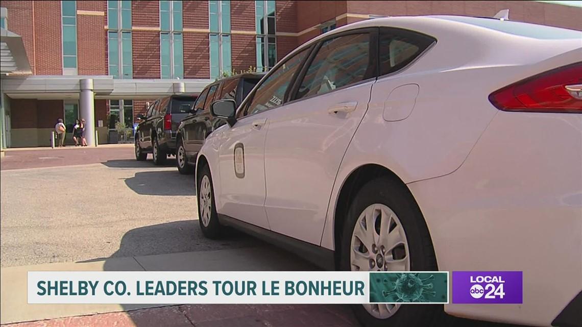 Shelby County leaders tour Le Bonheur Children's Hospital amid COVID-19 surge