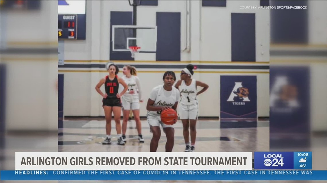Son of Arlington High School girl's basketball team reportedly punched Dyer County coach following Tuesday's game