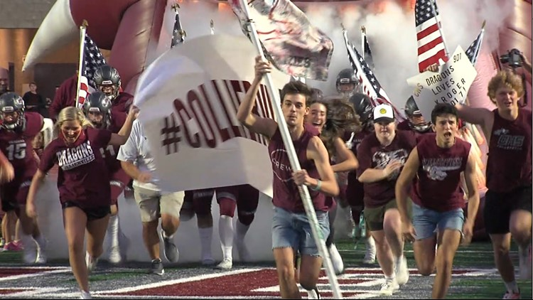 Dragons football wins, providing Collierville much-needed night of enjoyment, unity