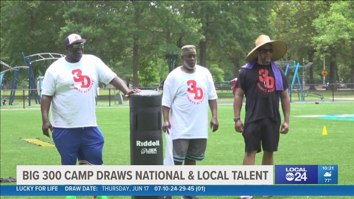Detroit based football camp makes a trip to Memphis