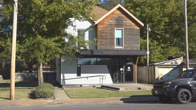 Artists Collab in Memphis Slim's Legacy Space