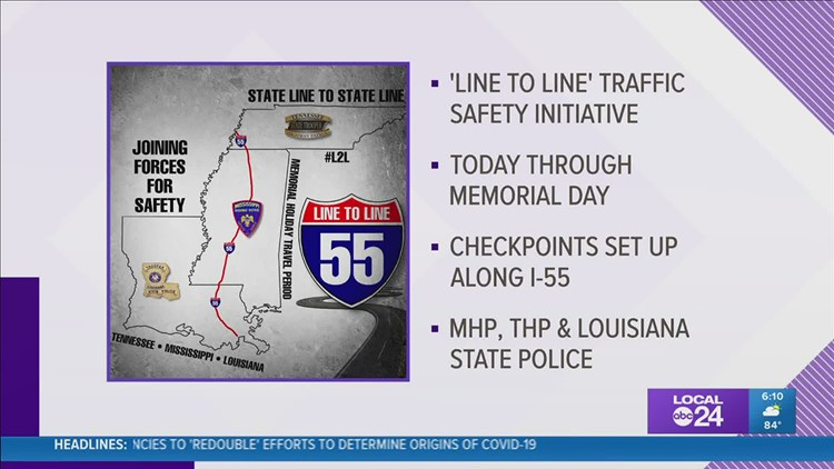 Mississippi, Tennessee, Louisiana to tackle holiday safety with new campaign