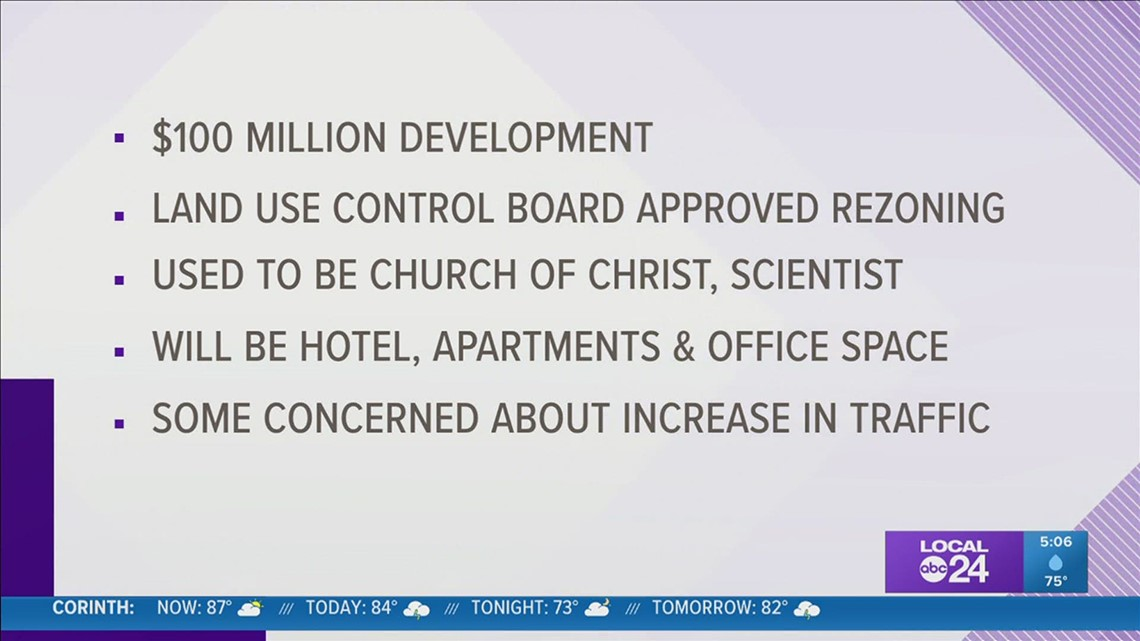 Memphis Land Use Control Board approves plans for $100 million U of M area development