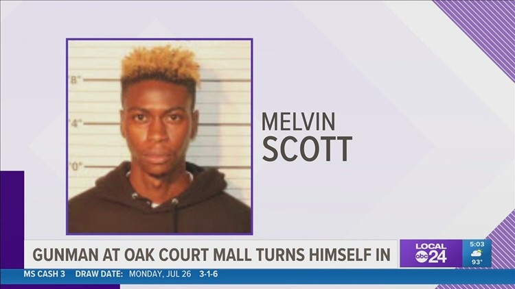 Police: Man who tried to enter Oak Court Mall with assault rifle turns himself in