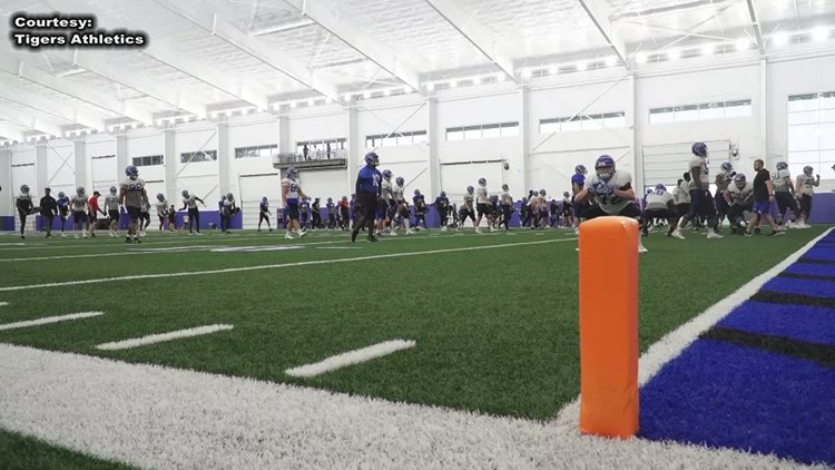 Energy, intensity growing in Tigers spring camp as Friday Night Stripes nears