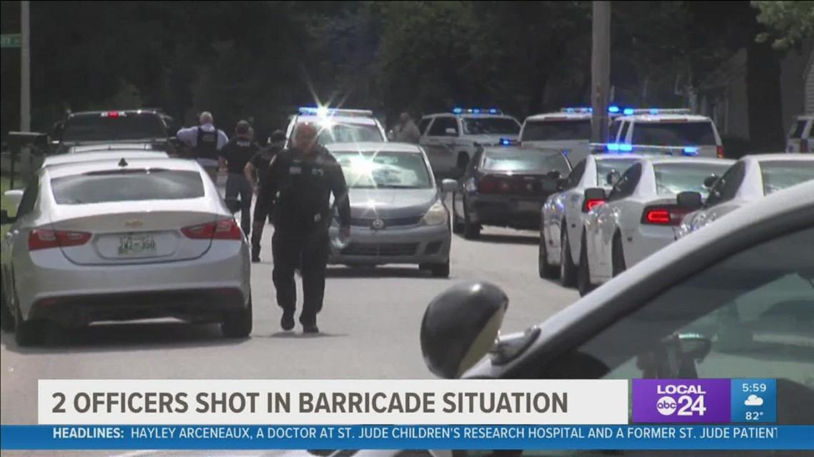 Man dead, officer and deputy hurt after shootout and barricade
